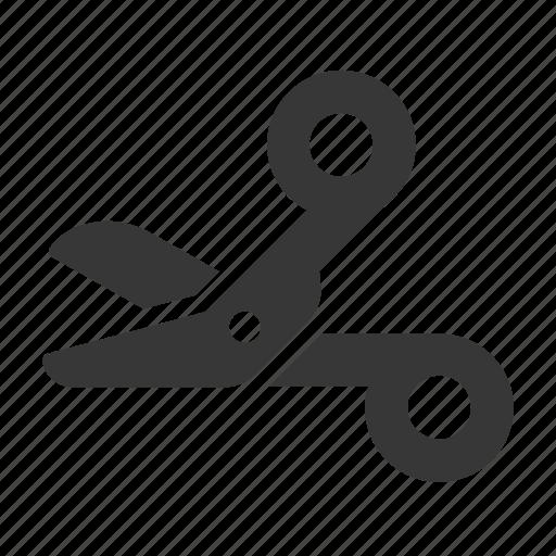 health, healthcare, hospital, medical, medicine, raw, simple, surgical scissors icon