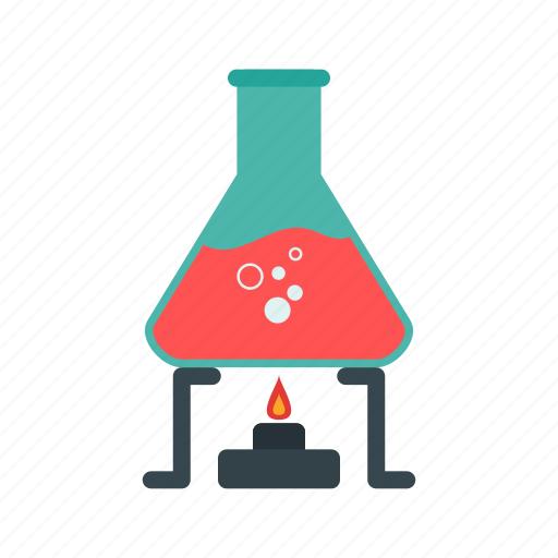 beaker, beakers, chemistry, laboratory, medical, science, set icon