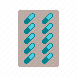 capsules, drug, health, herbal, medicine, pharmaceutical, pills icon