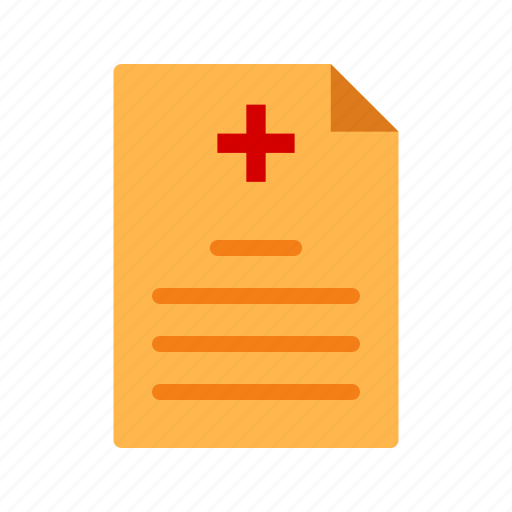 doctor, health, insurance, medical, paperwork, patient, report icon