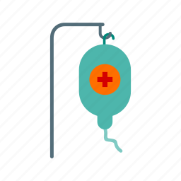 bag, blood, drip, hospital, iv, people, stand icon