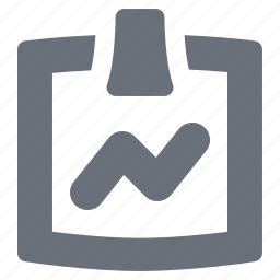 chart, clipboard, health, healthcare, hospital, medicine, pika, simple icon
