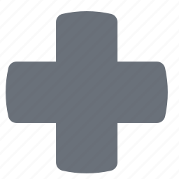 health, healthcare, hospital, medicine, pika, red cross, simple icon