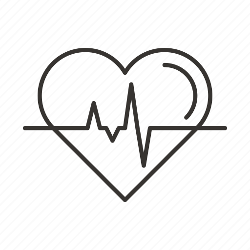 health, heart, heartbeat, pulse, rate icon