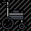 handicap, health, hospital, patient, wheelchair