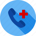 doctor, emergency, first aid, healthcare, help line, hospital, medical icon