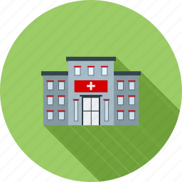 building, center, clinic, emergency, facility, hospital, medical icon