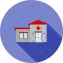 center, clinic, emergency, health, hospital, medical, room icon