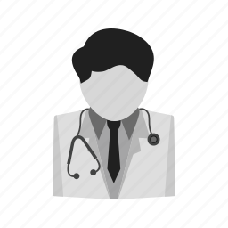 doctor, hospital staff, male, medical, physician, stethoscope, surgeon icon