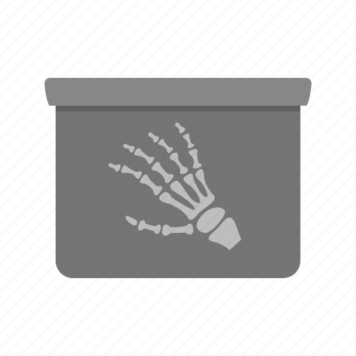 bone, examination, fingers, human hand, medical, skeleton, x-ray icon