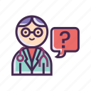 doctor, clinic, doc, dr, physician, practitioner, specialist icon