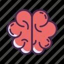 brain, brainstorming, head, idea, intelligence, mind, think icon