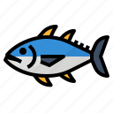 healthy, omega, protein, tuna icon