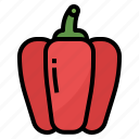 healthy, pepper, pepper bell, vegetable icon
