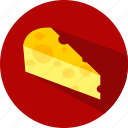 cheddar, food, cheese, pizza icon