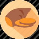 potato, carbohydrates, sweet potato, sweet icon