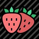 strawberry, fruit, healthy, food, diet, vegan, organic