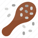 chia, healthy, nutritious, seed icon