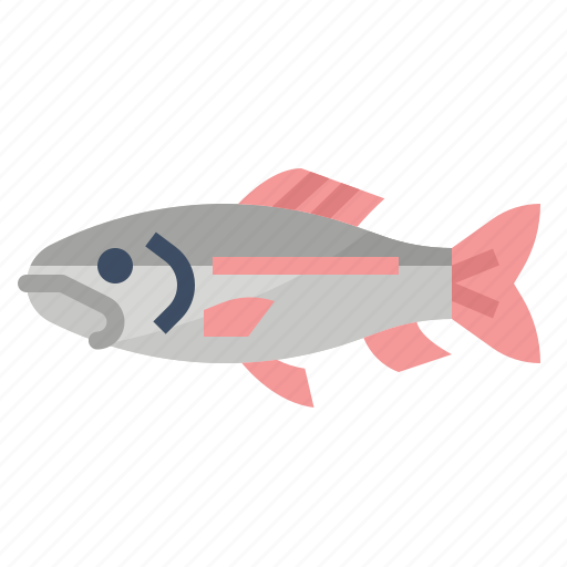 healthy, omega, protein, trout icon