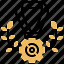 award, ribbon, success, victory, winner icon