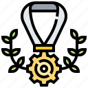 award, ribbon, success, victory, winner
