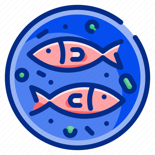 Dish, fish, food, healthy, plate, resttaurant, protein icon - Download on Iconfinder