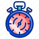 clock, date, stop, time, timer, tool, watch icon