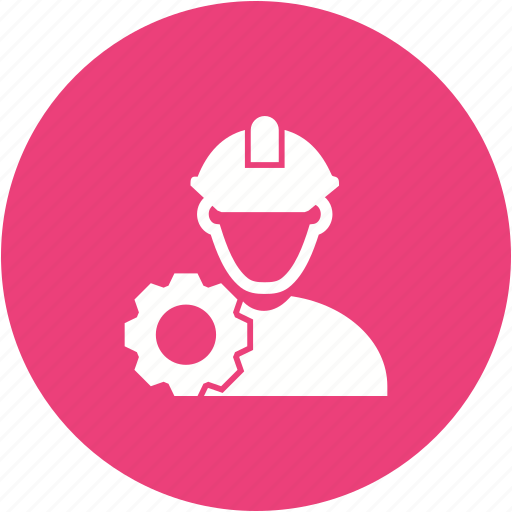 construction, engineer, engineering, manager, project, safety, worker icon