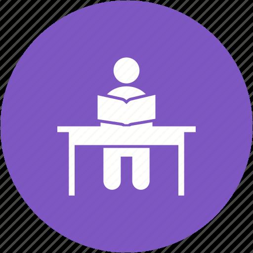children, class, classroom, group, school, teacher, training icon