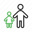 child, children, family, girl, happy, kids, standing