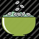 bowl, breakfast, cereals, cooking, food, fruit, healthy