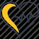 body, defect, heart icon