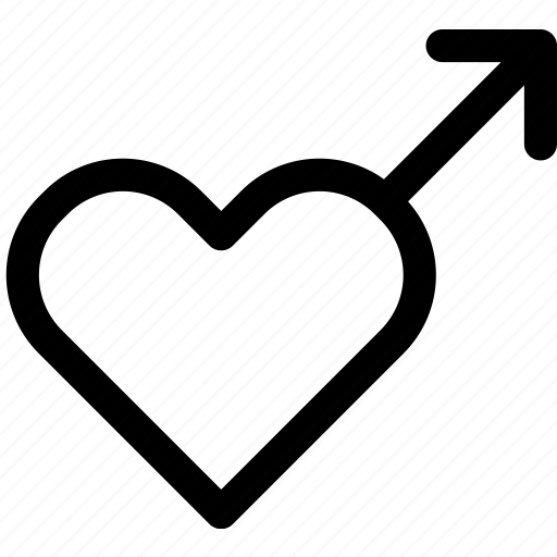 attraction, heart, love, male, man, passion, sex icon