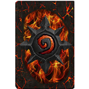back, card, cardback10, hearthstone icon