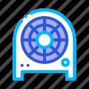 electronic, equipment, fan, heater, heating icon