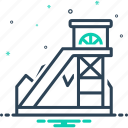 coal mining, equipment, excavator, fossil, mineral, mining, underground icon