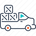 car, equipment, freight, heavy icon