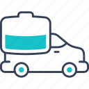 car, equipment, heavy, truck icon
