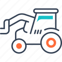 agriculture, equipment, farm, heavy icon