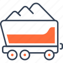 equipment, freight, heavy, truck icon