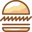 burger, eat, food, hamburger, ingredients, meal, restaurant icon