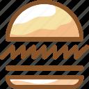 burger, eat, food, hamburger, ingredients, meal, restaurant