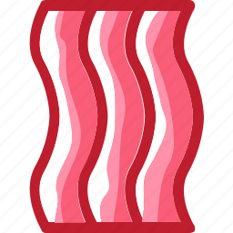 bacon, eat, food, ingredients, meat, pork, restaurant icon