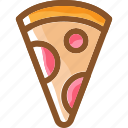 eat, food, ingredients, italian, pizza, restaurant icon