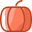 eat, food, fruit, halloween, ingredients, pumpkin, restaurant icon