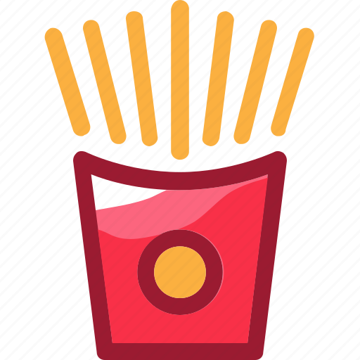 eat, food, french fries, ingredients, meal, potato, restaurant icon