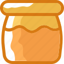 bee, eat, food, honey, ingredients, jar, restaurant icon