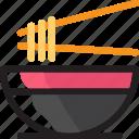chinese, chopstick, eat, food, ingredients, noodle, restaurant