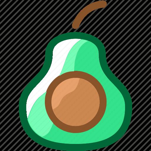 avocado, eat, food, fruit, ingredients, juice, restaurant icon