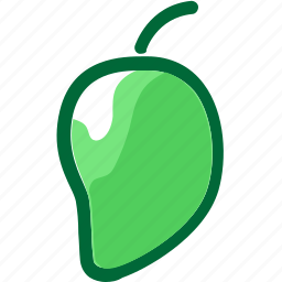 eat, food, fruit, ingredients, juice, mango, restaurant icon